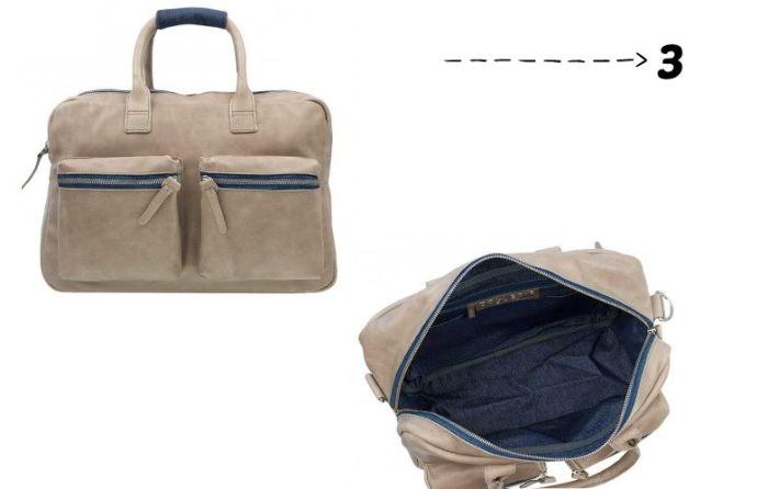 cae29664665 Dan op nummer drie ook weer een tas van Cowboysbag. Dit is een tas in een  andere kleur, een andere variant en met een aantal toffe jeans details.